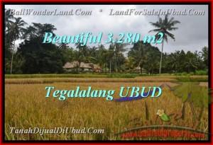 TANAH MURAH di UBUD DIJUAL 3,280 m2 di Ubud Tegalalang