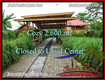 DIJUAL TANAH MURAH di UBUD Untuk INVESTASI TJUB491