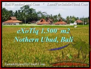 DIJUAL TANAH di UBUD BALI Untuk INVESTASI TJUB488