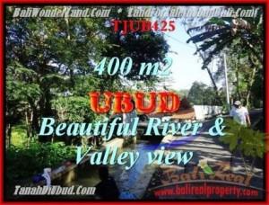 JUAL TANAH MURAH di UBUD BALI 4 Are View sungai dan Tebing