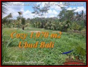 JUAL TANAH MURAH di UBUD BALI Untuk INVESTASI TJUB536