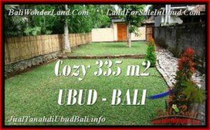 TANAH MURAH di UBUD BALI 335 m2 di Ubud Tegalalang
