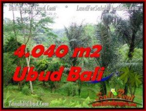 JUAL MURAH TANAH di UBUD BALI 4,040 m2 di Ubud Tegalalang